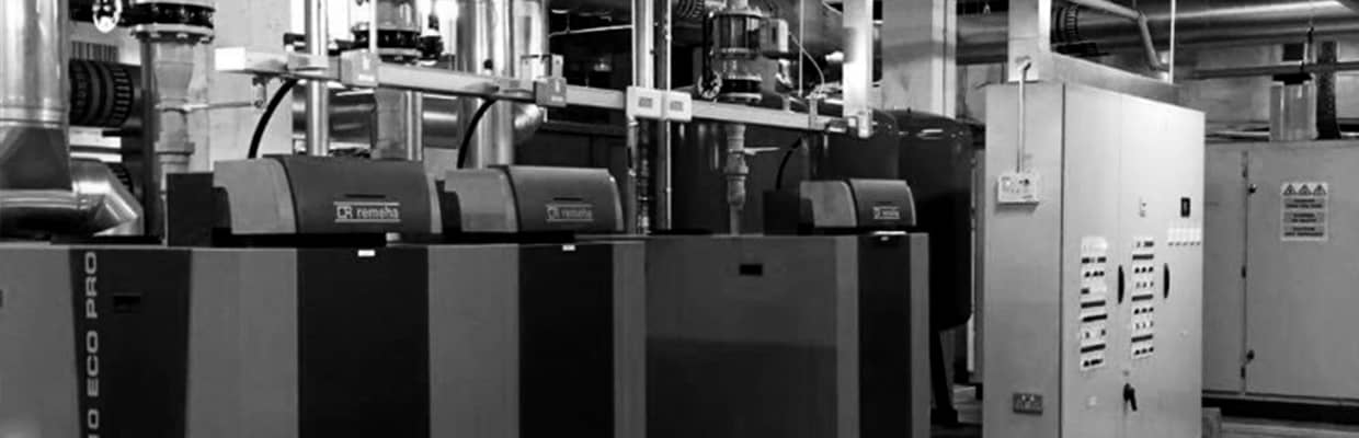 Remeha boilers at Fullwell Cross Leisure Centre, London