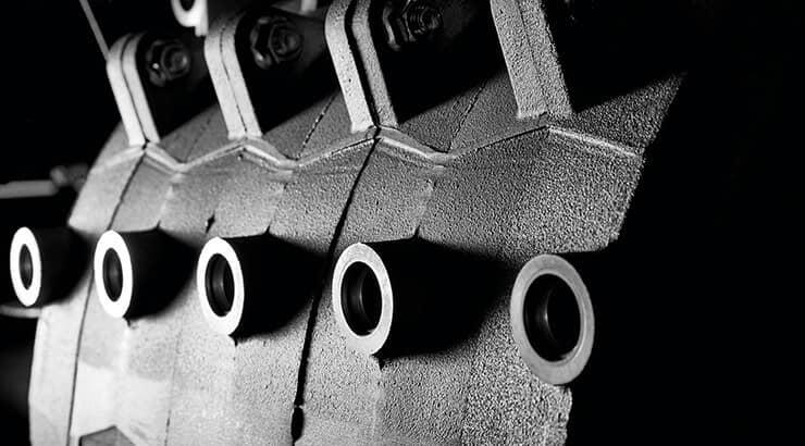 Inside a Remeha Gas 310 Eco Pro boiler