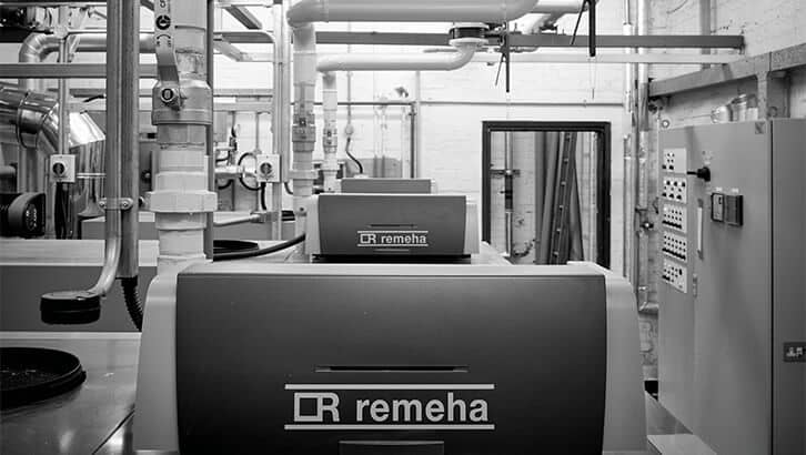 Remeha boilers, National Library of Wales