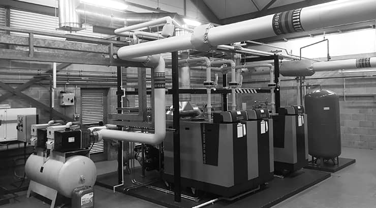 Remeha Gas 310 610 boilers reduce gas consumption by 46% at William Davies Building Aberystwyth University