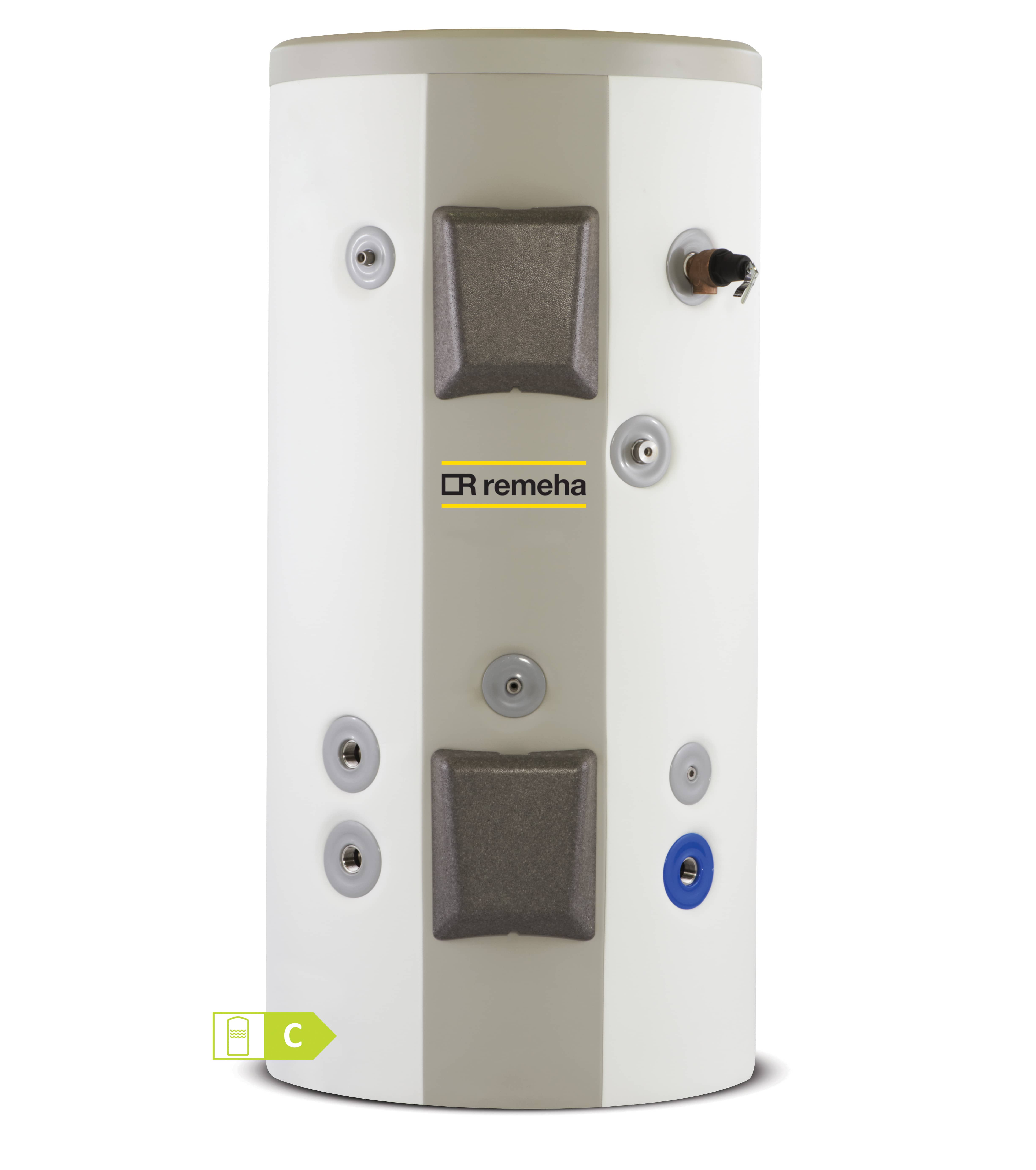Remeha RC Stainless Steel Single and Twin Coil, Unvented, Hot Water Cylinder