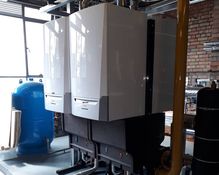 Quinta Ace 160 boilers at Elms Farm Community Primary School
